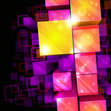 3d bright abstract background Royalty Free Stock Photography