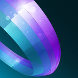 3d bright abstract background Stock Photography