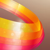 3d bright abstract background. Illustration Stock Images