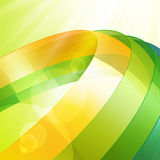 3d bright abstract background Stock Photo