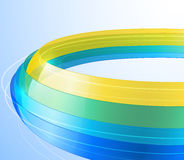 3d bright abstract background. Illustration Royalty Free Stock Photography
