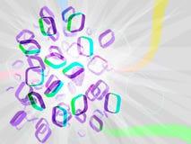 3d bright  illustration Stock Photos