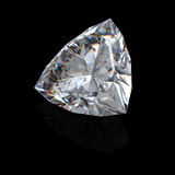 3d brilliant cut diamond Royalty Free Stock Photography