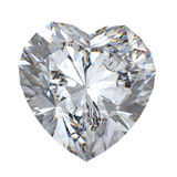 3d  brilliant cut diamond Stock Photo
