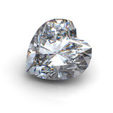 3d  brilliant cut diamond Stock Image