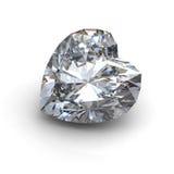 3d  brilliant cut diamond Stock Image