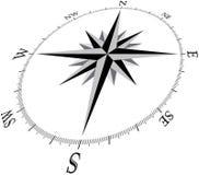 3d brujula1 compass1 免版税库存照片