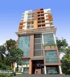 3d building render. 3d architectural building illustration background Royalty Free Stock Image