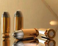 3D bullets Stock Image
