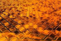 3D burning background Royalty Free Stock Image