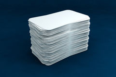 3d business card render Stock Photography