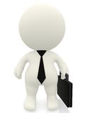 3D business man Royalty Free Stock Image