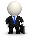 3D Business man Royalty Free Stock Photo