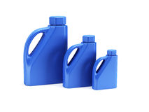 3d butelka odizolowywający motorowy olej odpłaca się Obrazy Royalty Free