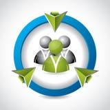 3d button for social network websites. Cool 3d button for social network websites Stock Photography