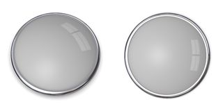 3D Button Solid Grey - 20% Stock Photo