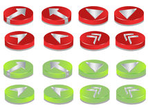 3D Buttons Royalty Free Stock Image