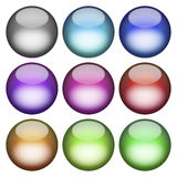 3D Buttons Pack Stock Images