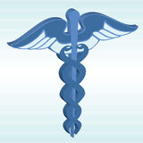 3d Caduceus Royalty Free Stock Image