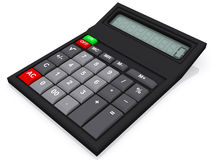 3D calculator Stock Photos