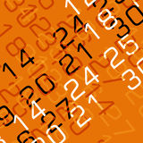 3D calendar Stock Photography