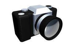3d Camera Royalty Free Stock Images