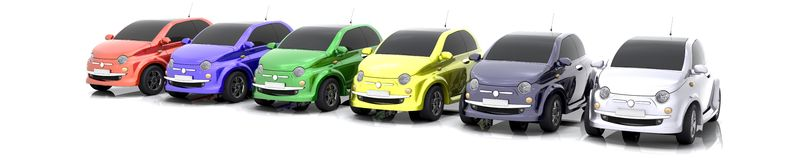 3D Car sale Stock Images