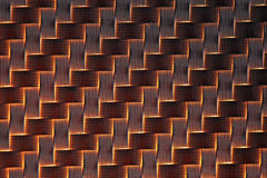 3d Carbon fiber background Stock Image