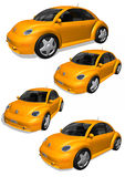 3D cars Royalty Free Stock Photography