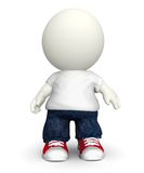 3D casual guy Royalty Free Stock Image
