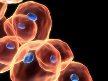 3d cells Royalty Free Stock Photos