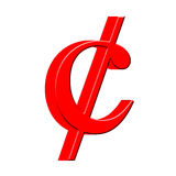 3d centu symbol Obrazy Stock