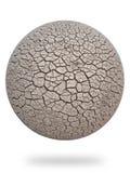3d cg干燥地球大陆 库存图片