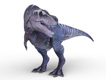 3D CG rendering of Dinosaurs royalty free illustration