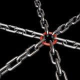 3d chains Stock Photos
