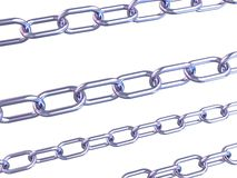 3d chains Royalty Free Stock Photos