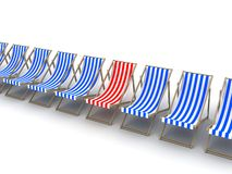 3d chairs Stock Image