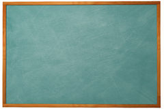 3D Chalkboard. Blank chaklboard. This is a better version from the equivalent pictures in my portfolio. This is a 3D rendered picture royalty free stock photography