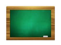 3d chalkboard zielony kolor z kredą Zdjęcie Stock
