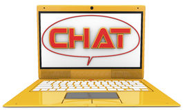 3d chat Royalty Free Stock Images