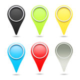 3D check in icon Stock Photography