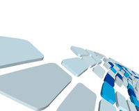 3d checked background. Abstract 3d checked  business background for use in web design Stock Image