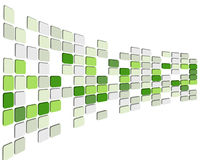 3d checked background. Abstract 3d checked  business background for use in web design Stock Photography