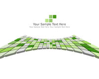 3d checked background. Abstract 3d checked  business background for use in web design Stock Photo