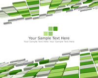 3d checked background. Abstract 3d checked  business background for use in web design Royalty Free Stock Photo