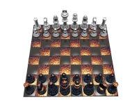 3d chess Stock Photos