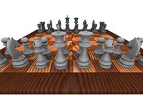 3d chess Stock Images