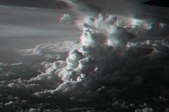 3D chmury Obrazy Stock