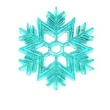 3d christmas snowflake Stock Photography