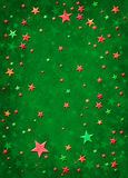 3D Christmas Stars Stock Images